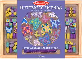 bead set butterfly friends