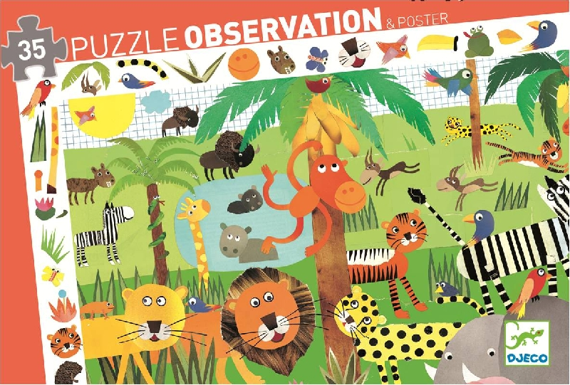 Jungle observation puzzle