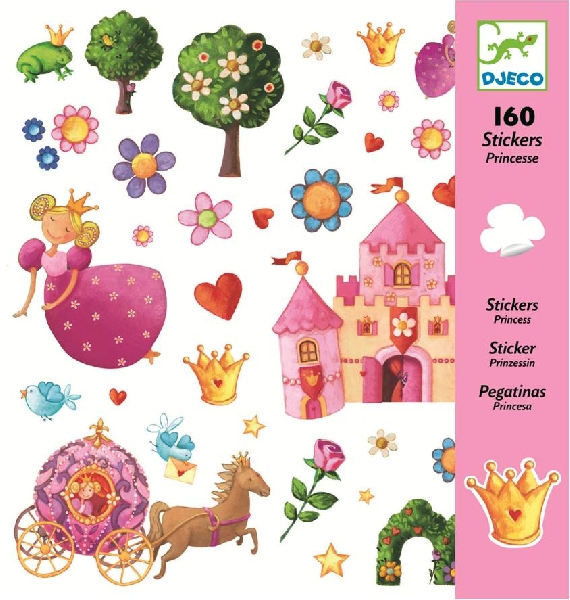 Princess stickers
