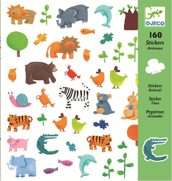 Animals stickers