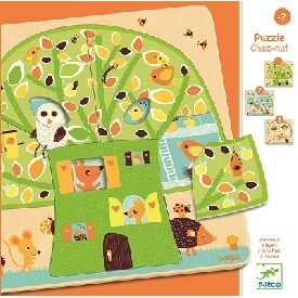 3 layers puzzles tree house