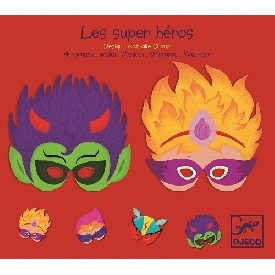 Super heroes masks