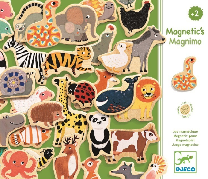Wooden magnetic's magnimo