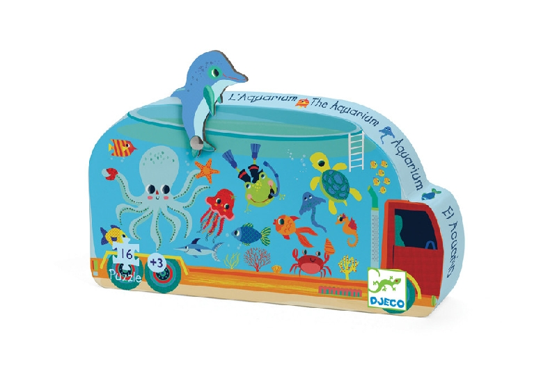 The aquarium - 16pcs