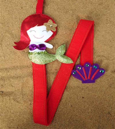 Sati kp013 clip keeper mermaid
