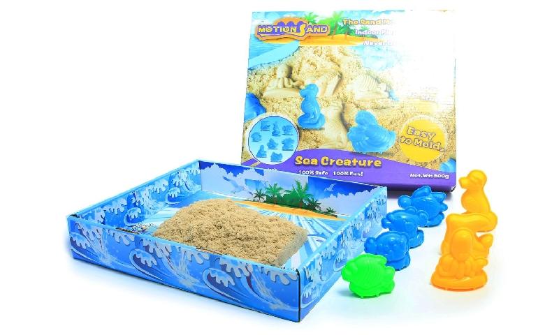 Motion sand: 3d sand box sea creature