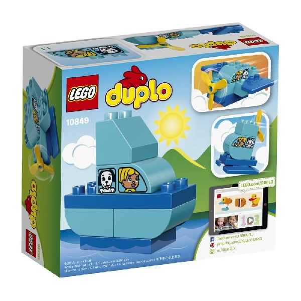 Lego duplo 10849 : my first plane
