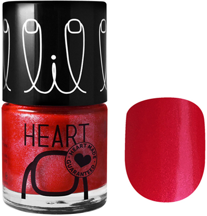 Little heart nail color heart beat 22