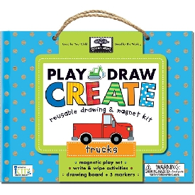 Play draw create - truck