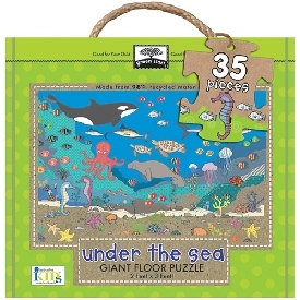 Giant floor puzzle : under the sea