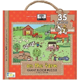 Giant floor puzzle : on the farm