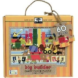 Giant floor puzzle : big builder