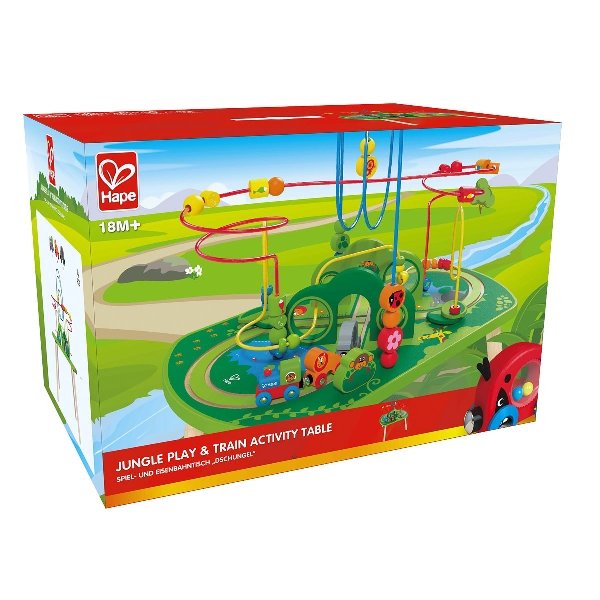 Jungle play & train table