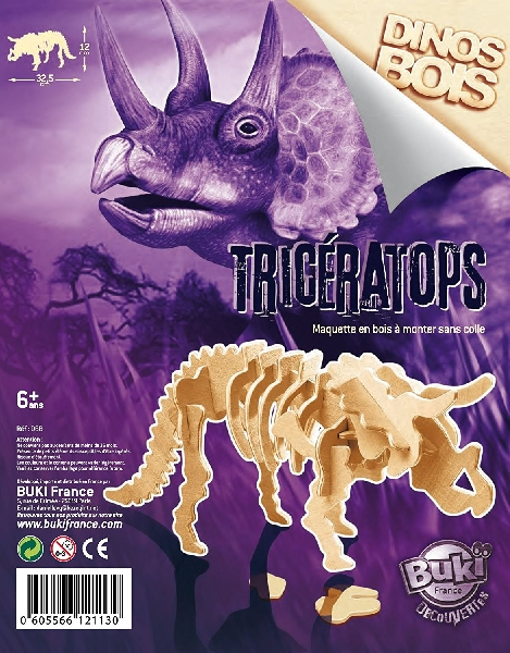 Dino 3d triceratops