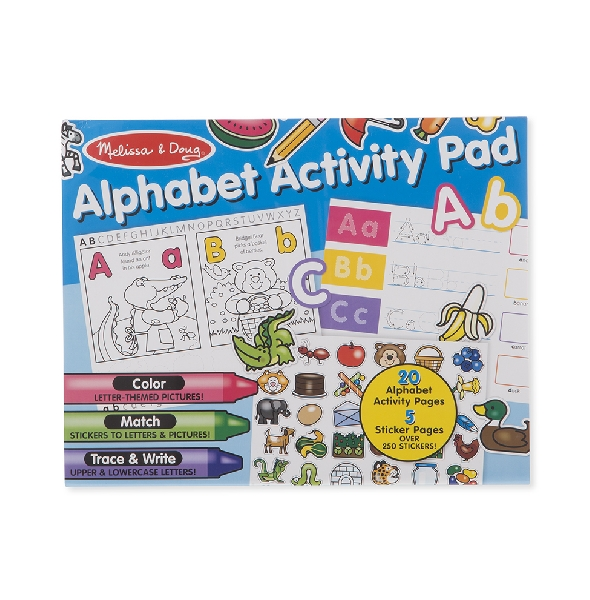 Sticker activity pad alphabet