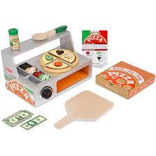 Bake pizza counter