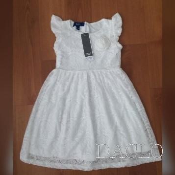 Girl's dress (white)