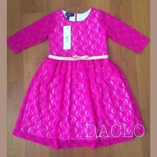 Girl's dress (pink)