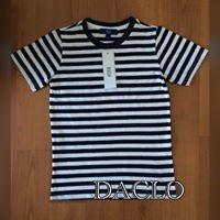 Boy's shirt (white & blue)
