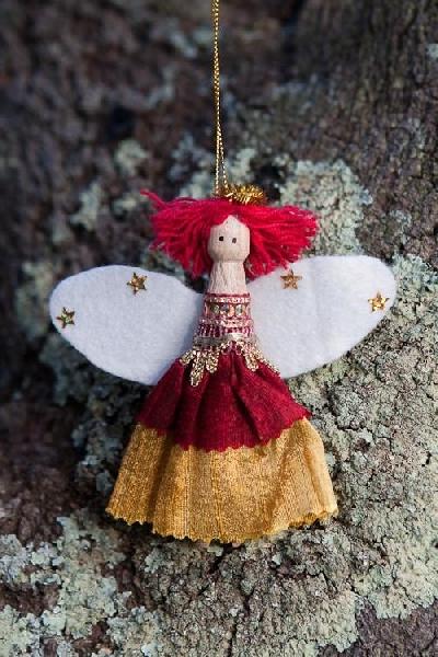 Christmas angel - poppy