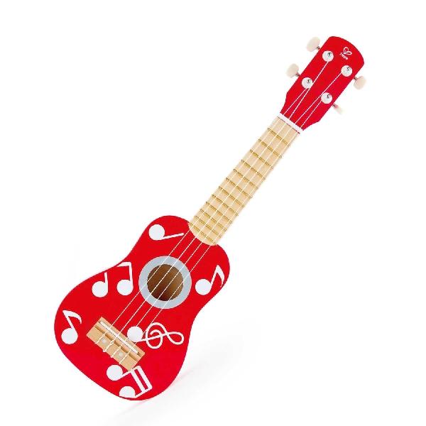 Red ukulele