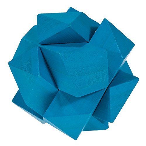 iq-test bamboo puzzle light blue