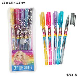 Top model glitter gel pens