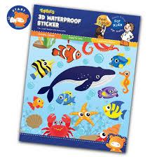 Waterproof sticker- in the sea