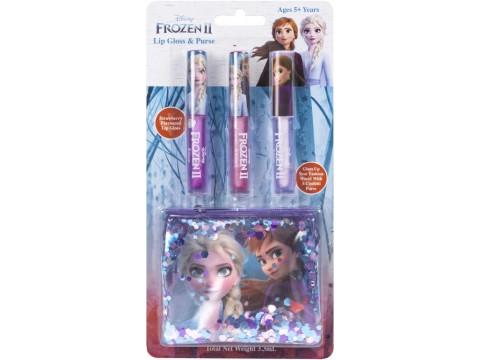 Lip gloss & purse