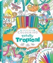 Kaleidoscope colouring tropicana marker kit