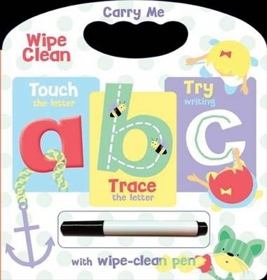 Wipe clean carry handle : abc