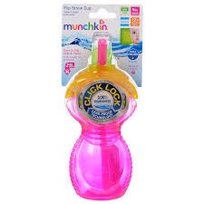 Click lock 9oz flip straw cup - 1 pk