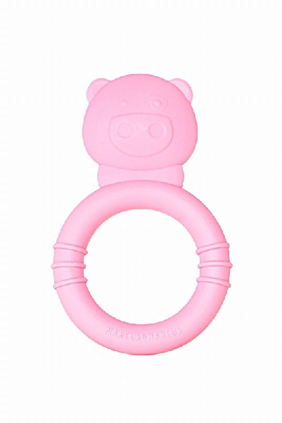 Teether - pink (pokey the pig)