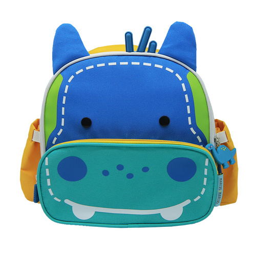 Insulated lunch bag - blue (lucas the hippo)
