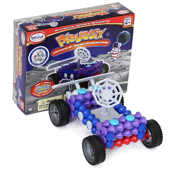 Playstix master kits - lunar rover