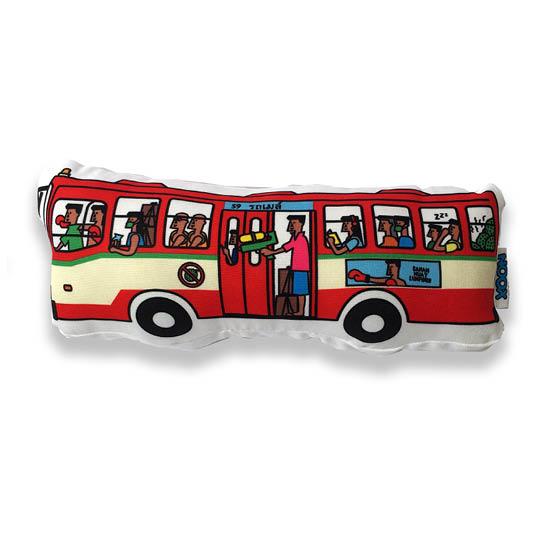 Soft toy bangkok bus