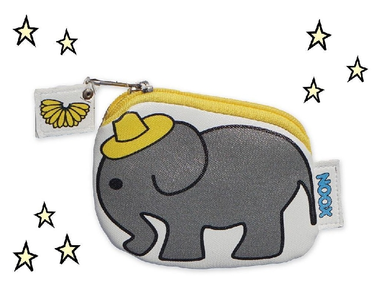 Zipper pouch elephant