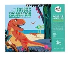 Fossils excavation - tyrannosaurus rex
