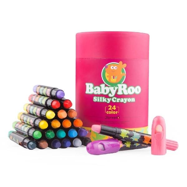 Baby roo silky crayon 24 colors