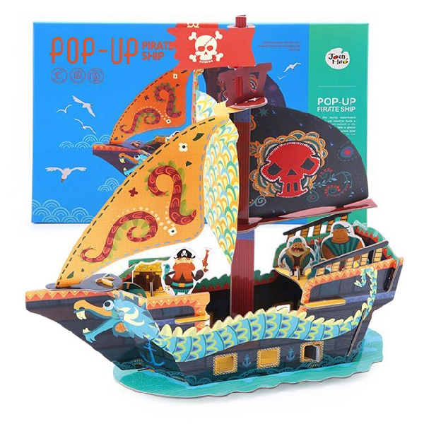Joan miro pop up puzzle pirate ship
