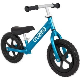 Cruzee ultralite  balance bike blue topaz