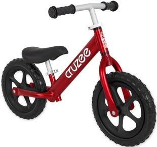 จักรยานขาไถครูซซี่ 2021 สีแดงทับทิม +ล้อดำ