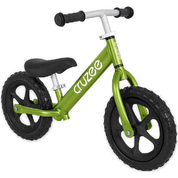 Cruzee bike - green with black wheels
