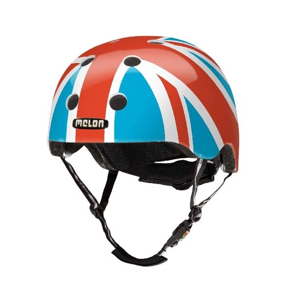 หมวกกันน็อก 46-52 cm ลายธงอังกฤษสีสด