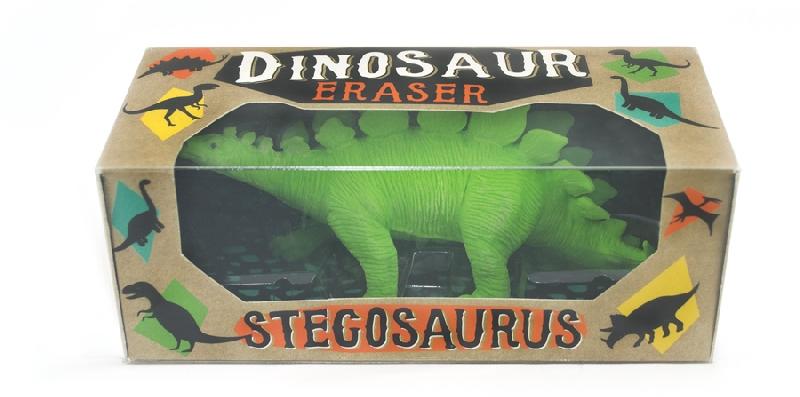 Dinosaur eraser - stegosaurus