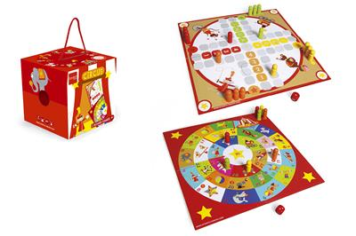 2 board games circus
