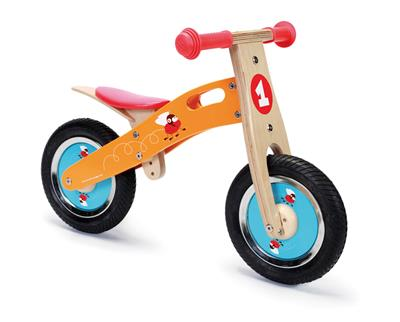 Balance bike small - racing flies