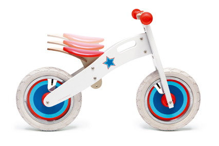 Balance bike large white
