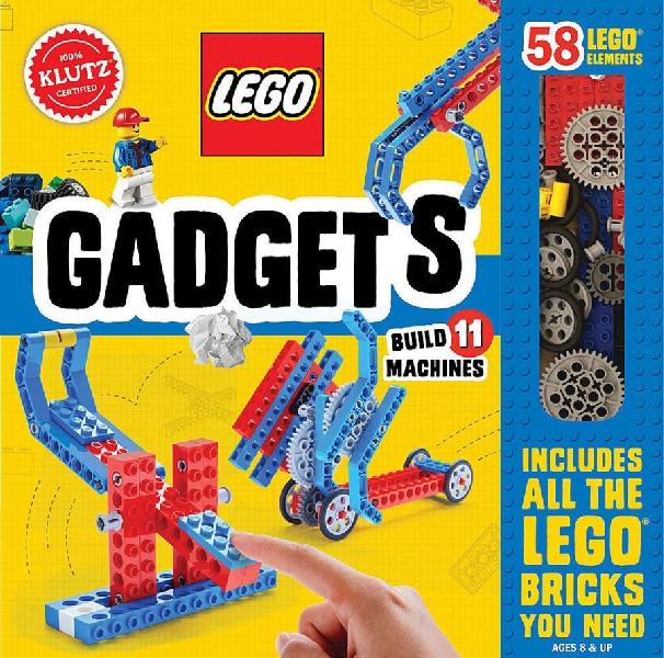 ตัวต่อเลโก้พร้อมหนังสือ ชุด gadgets ต่อกลไล
