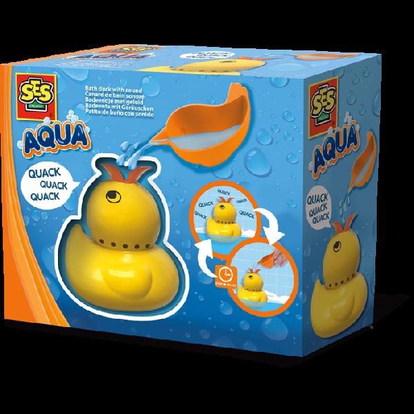 Bath duck with sound
